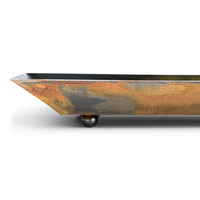 Side Depth View of Prairie Dance Accent Tray
