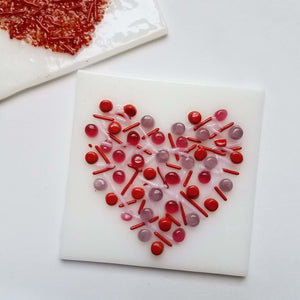 Glass Sweetheart Tile