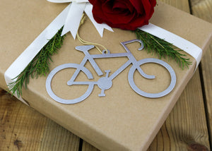 Aluminum Bicycle Ornament