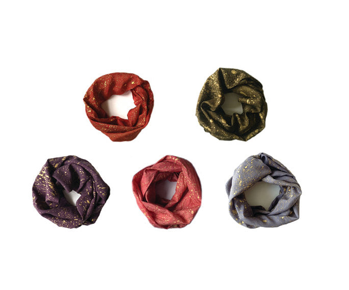 Argaman & Defiance Infinity Scarves