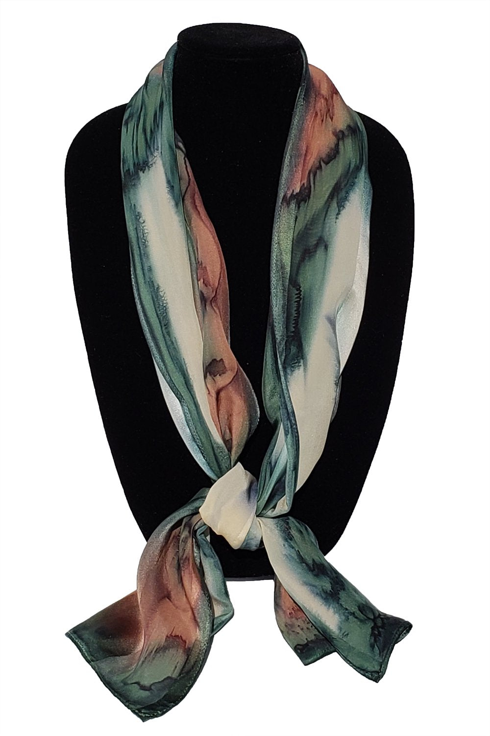 "11"" x 60"" Hand Painted Silk Scarves"