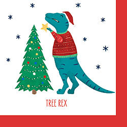 Tree Rex Cocktail Napkins