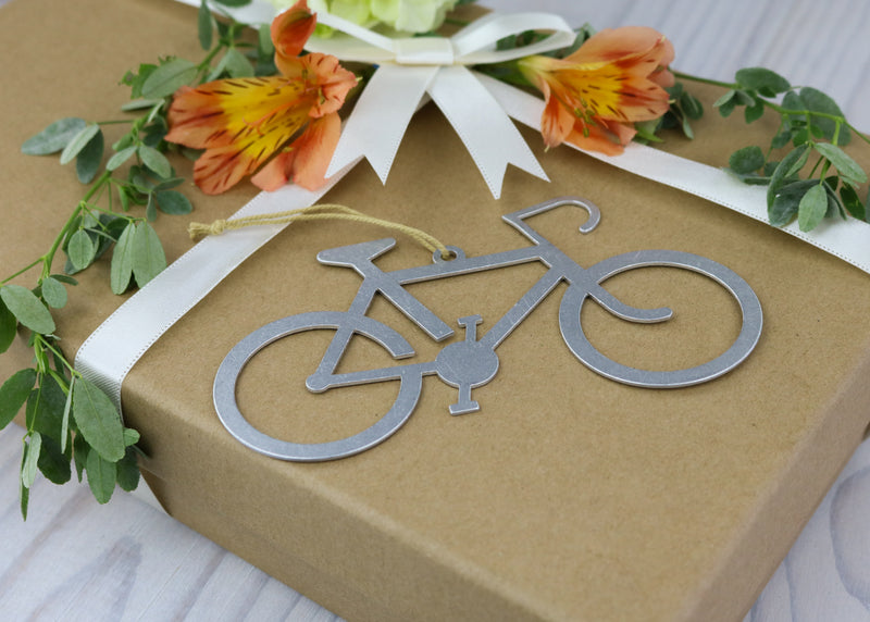 Bicycle Metal Ornament
