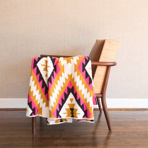 Happy Habitat Throw Blanket