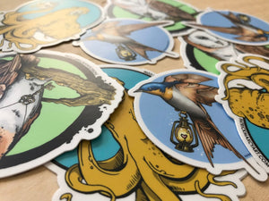 Stickers by Patrick Maxcy Art