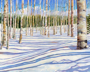 Aspen Snowfall Christmas Boxed Card