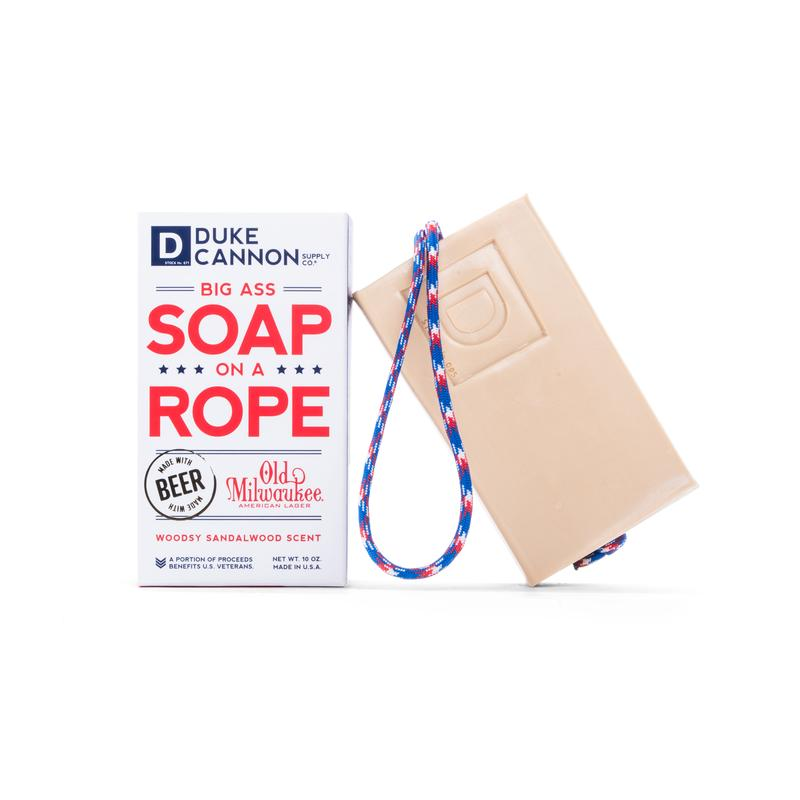 Beer Soap on a Rope