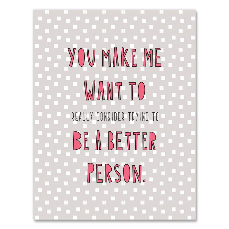 Better Person Card