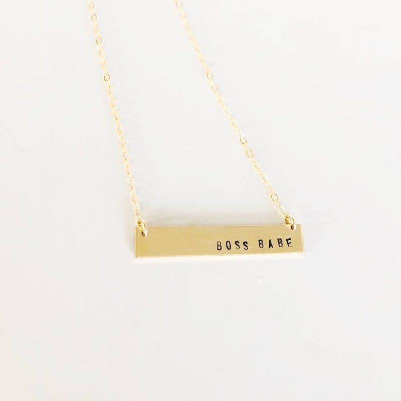 Boss Babe Gold Necklace