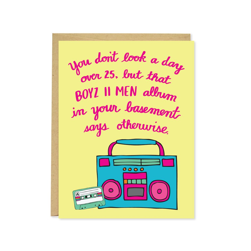 Boyz II Men Birthday Card
