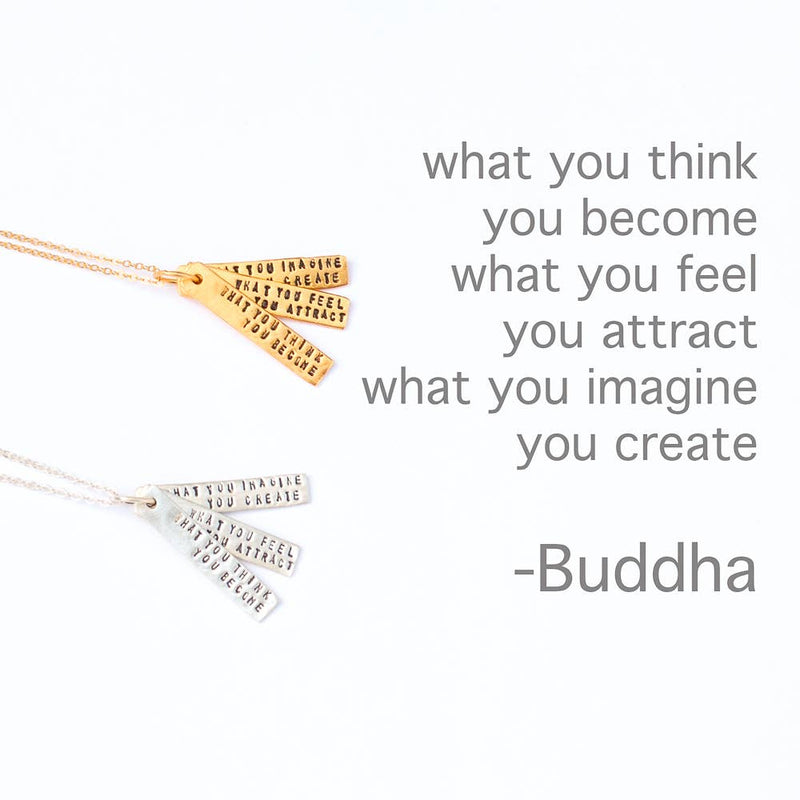 Buddha Quote Necklaces