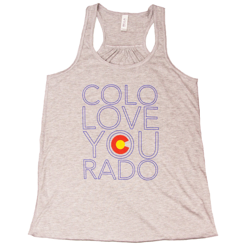 Colo-love-you-rado Flag Tank