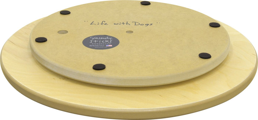 "Life With Dogs 18"" Lazy Susan"