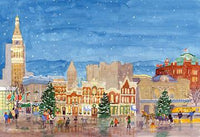 Denver Christmas Scene Card