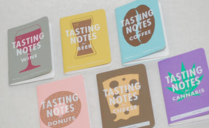 Assorted Younder Bound Book's Tasting Notebooks