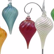Drop Glass Ornament Collection