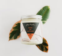 Fall Soy Candle from Falling into Place