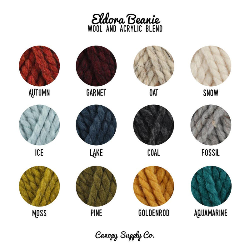 Canopy Supply Co. Color Swatches