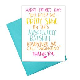Father's Day Batshit Card