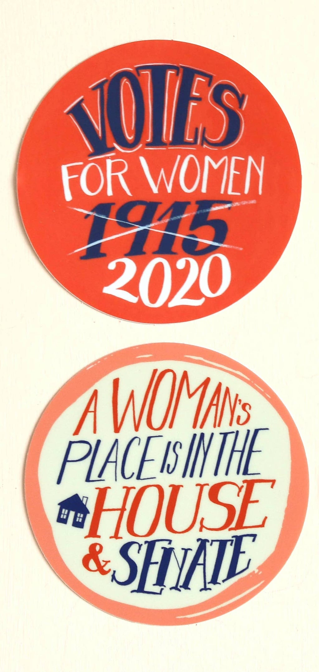 Vote for Women Stickers