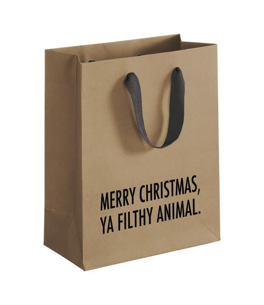 Merry Christmas Ya Filthy Animal Gift Bag