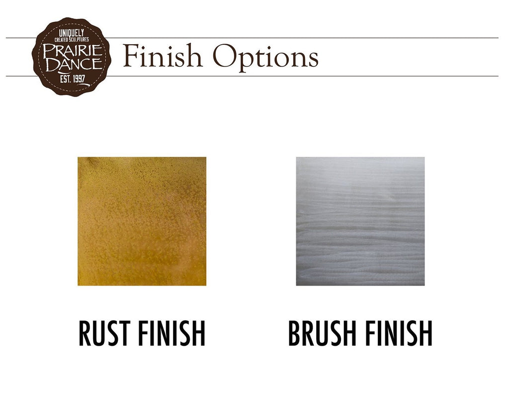 Prairie Dance Metal Finish Options