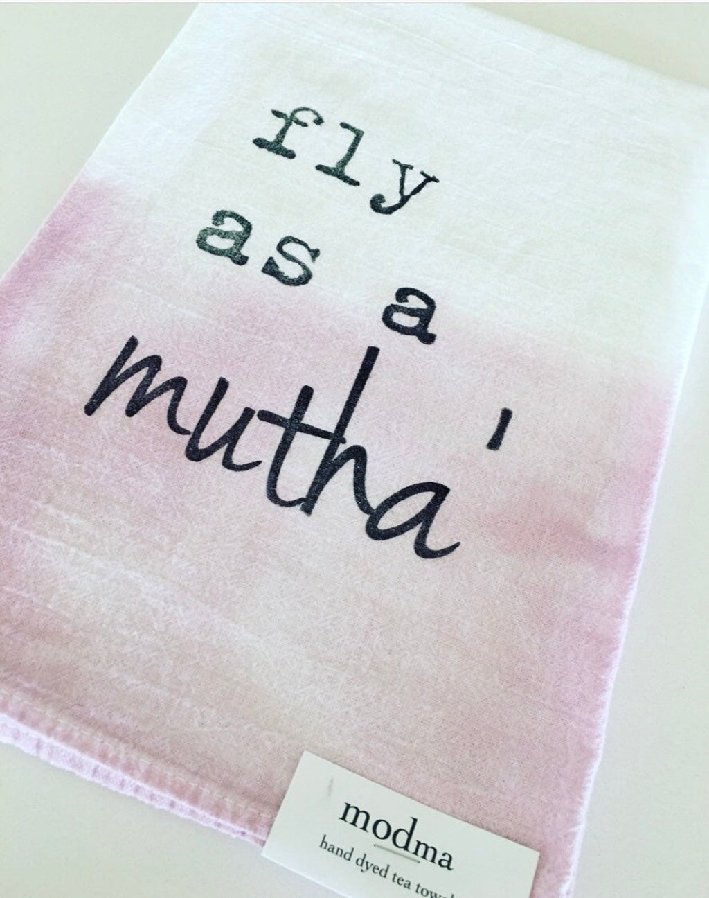 Fly as a Mutha Tea Towels