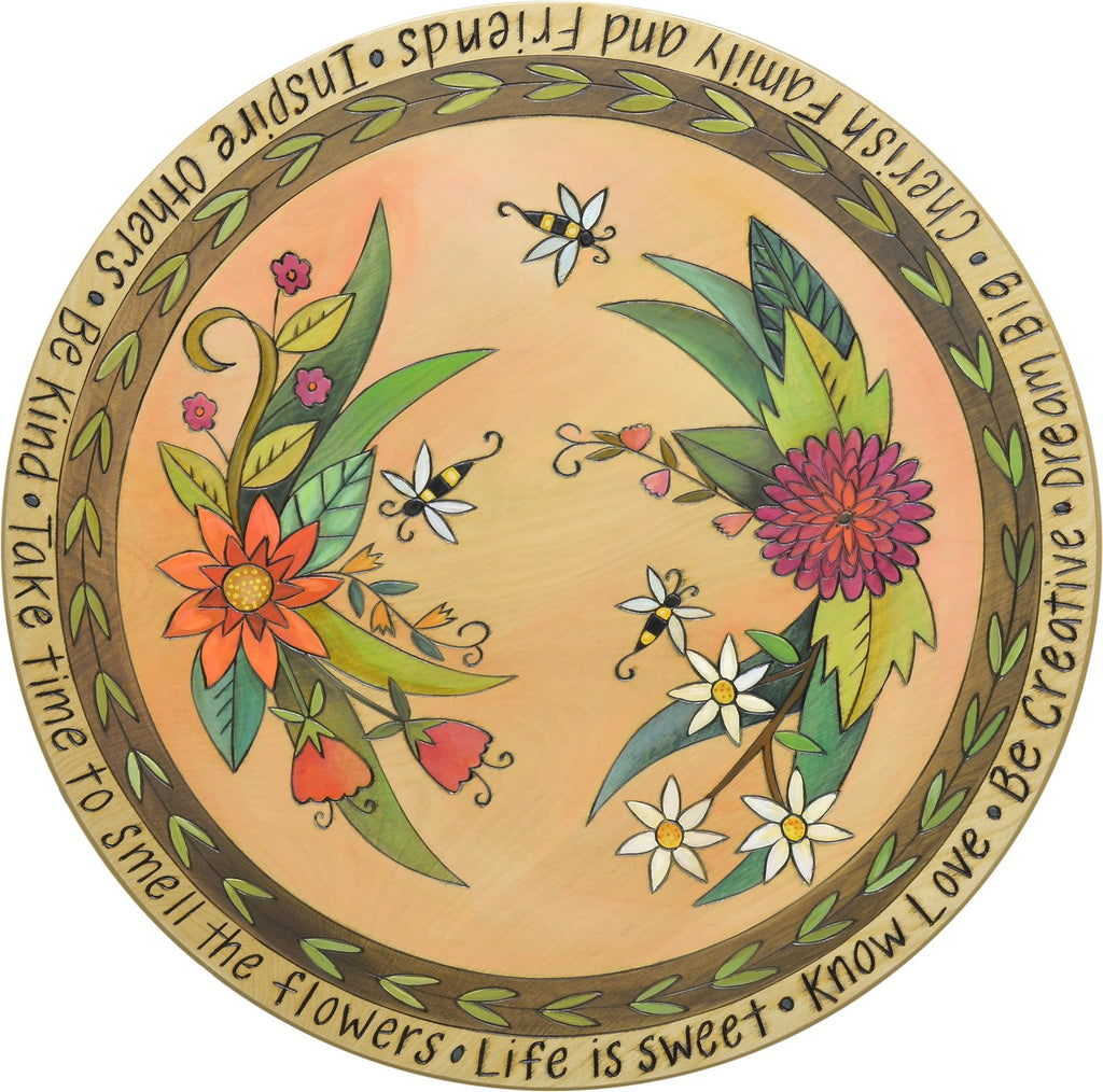 "For the Bees 18"" Lazy Susan"