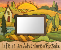 Life is an Adventure Artisan 4x6 Picture Frame