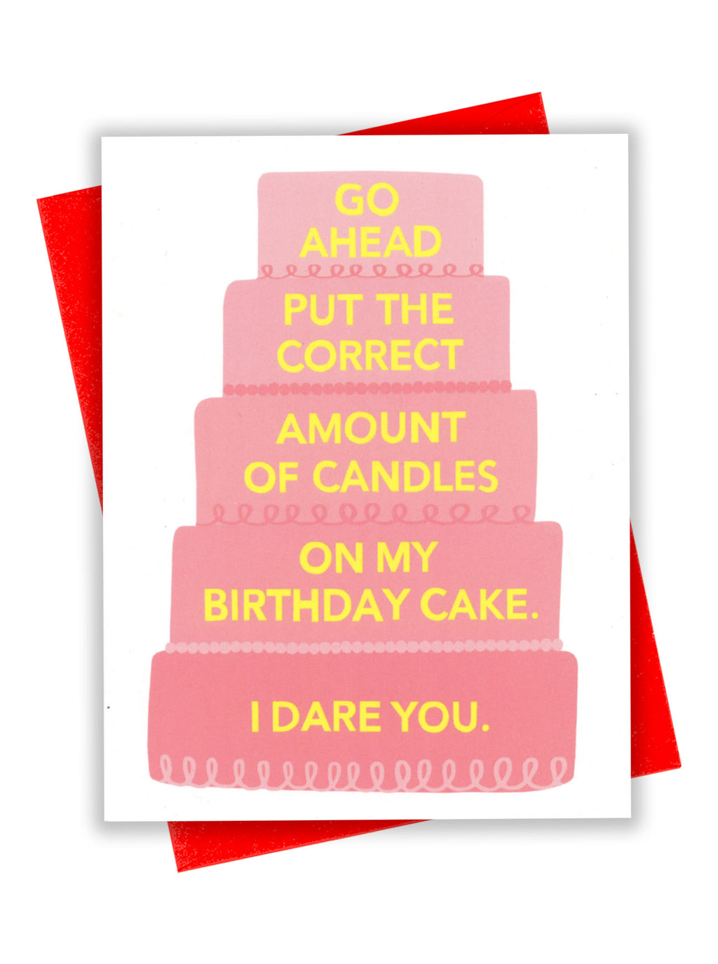 Birthday Dare Card