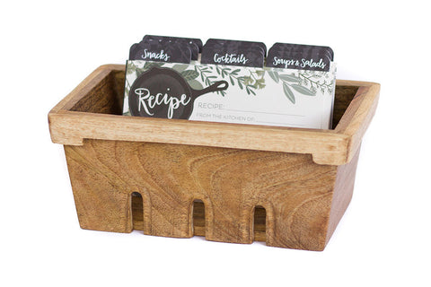 Berry Basket Recipe Box