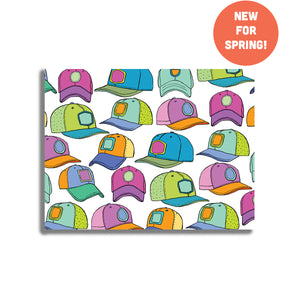 Hats Postcard Set