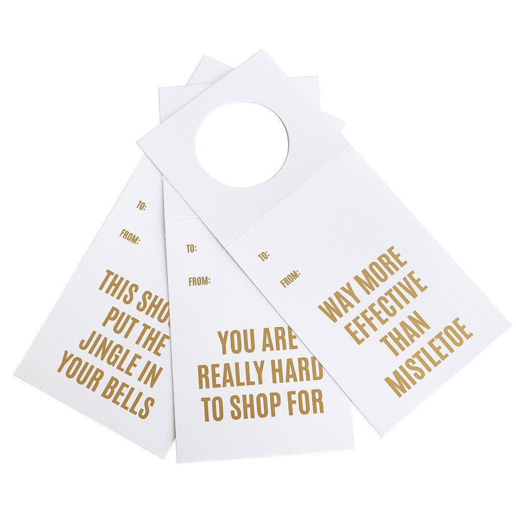Holiday Variety Three Pack Wine & Spirit Tags