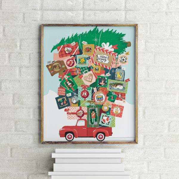 Framed Inklings Advent Calendar