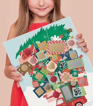 Inklings Paperie Scratch-off Advent Calendar