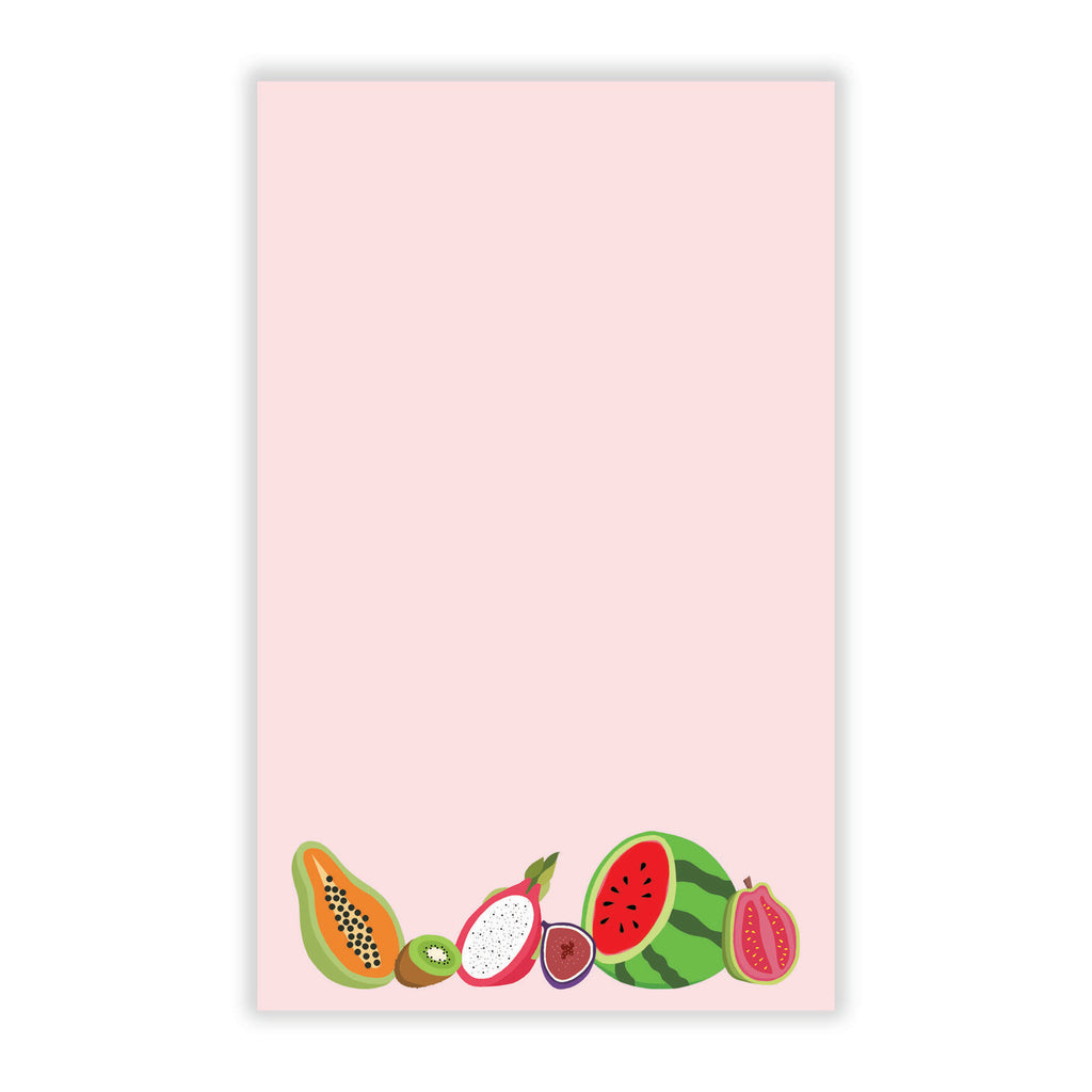 Notepad with Tropical Fruit
