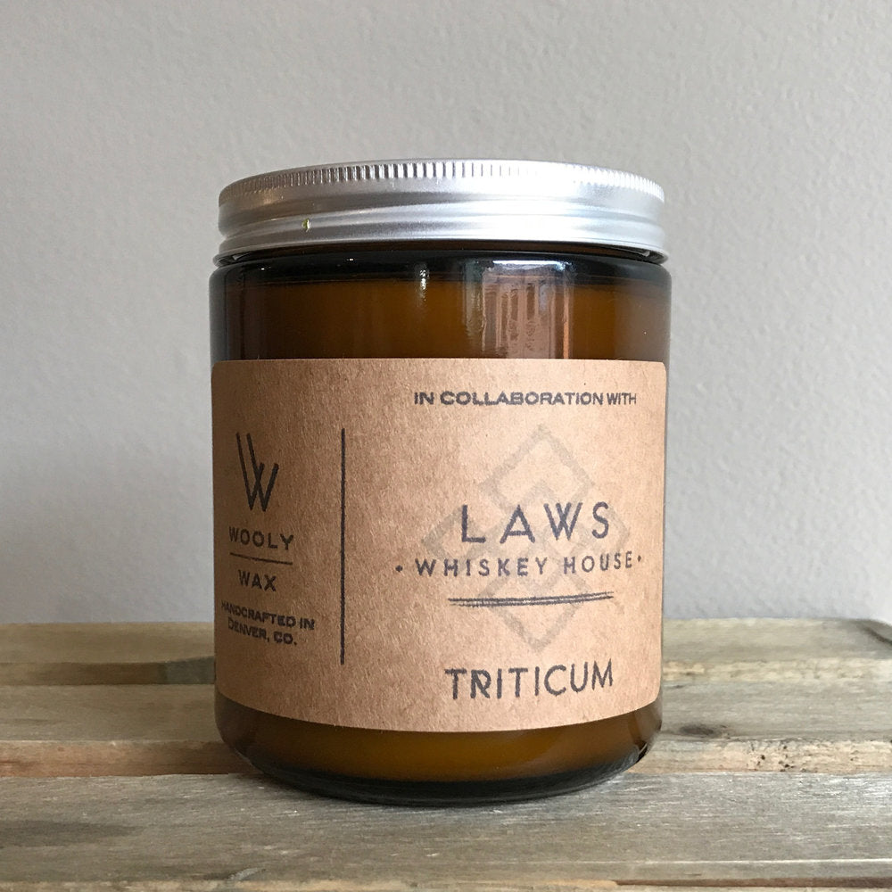 Laws Whiskey Soy Wooly Wax Candle