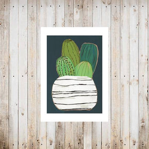 Little Cutties Succulent Card by Rachel Cordaro
