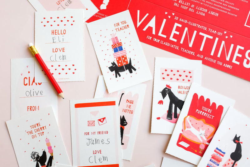 Class Valentines Editorial Shot