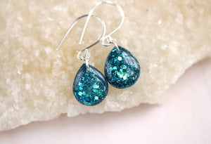 Mermaid Glitter Earrings