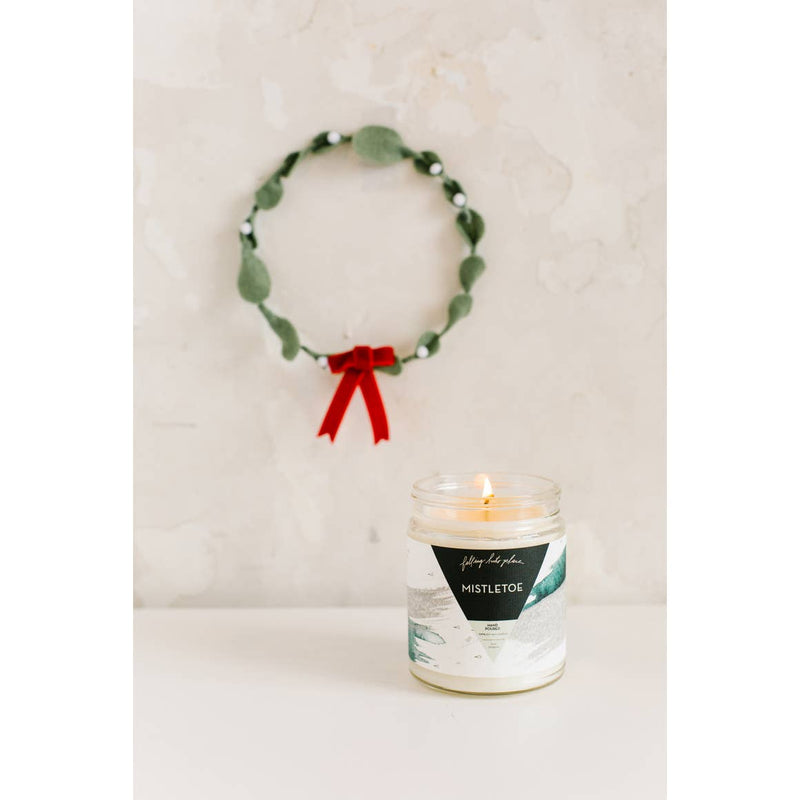 Mistletoe Holiday Candle