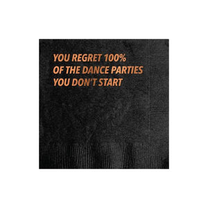 Dance Party Cocktail Napkin