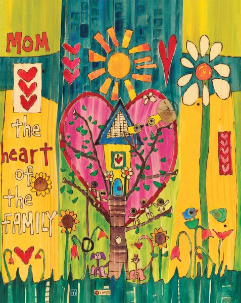 Outdoor Mom Artwork by Stephanie Burgess