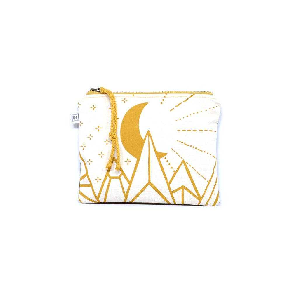 Moonbeam Cosmetic Pouch Clutch
