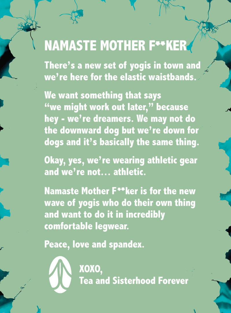 Namaste Mother F**ker :: Snarky Tea
