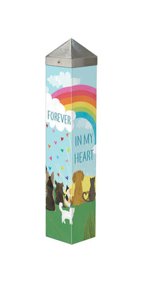 "Forever in My Heart 20"" Peace Pole"