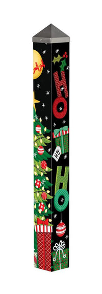 Santa Stops Here 3' Peace Pole