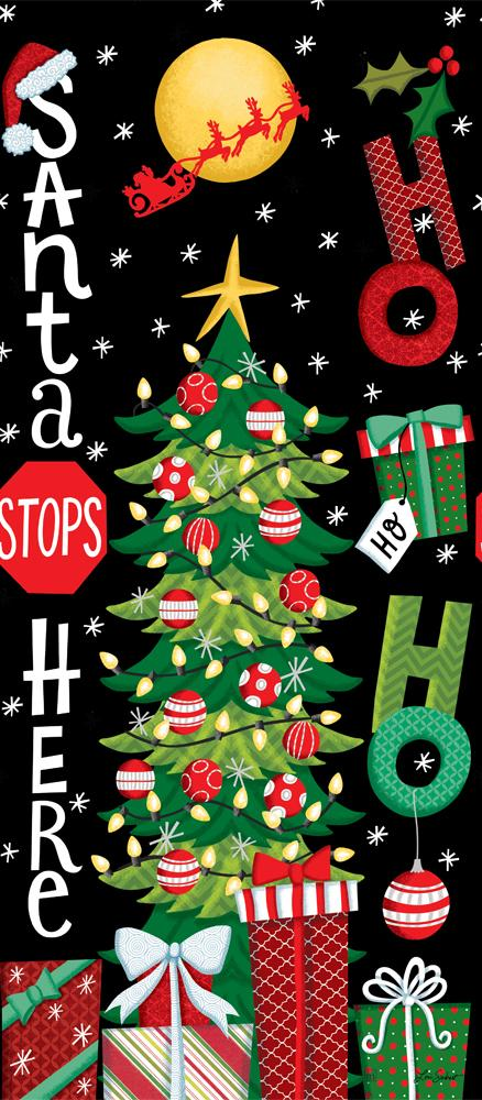 Santa Stops Here Artwork