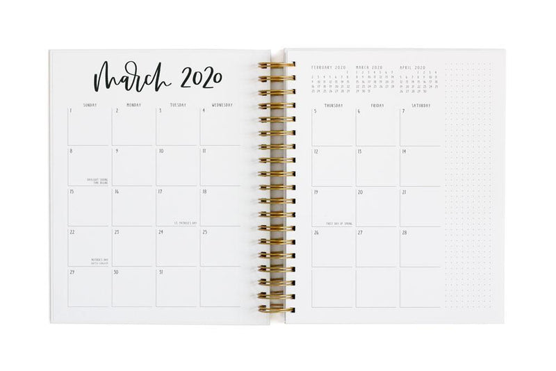 Monthly Planner View