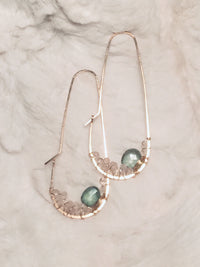 Basics Collection | Cluster Pear Hoops